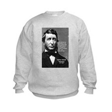 Philosophy / Nature: Thoreau Kids Sweatshirt