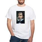 Poet Edgar Allan Poe White T-Shirt