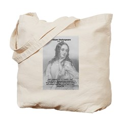 Shakespeare: Beauty of Juliet Tote Bag