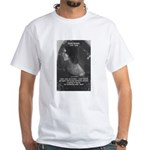 Novelist: Emily Bronte White T-Shirt