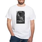 Novelist: Emily Bronte White T-Shirt