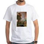 Hamlet Famous Soliloquy White T-Shirt