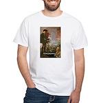 Hamlet Famous Soliloquy White T-Shirt