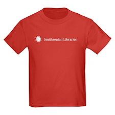 Smithsonian Libraries Kids Dark T-Shirt
