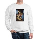 Woman and Child: Da Vinci Sweatshirt