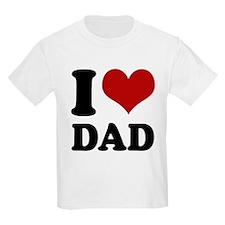 I love Dad T-Shirt
