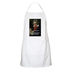 Classical Music Chef Apron: Ludwig van Beethoven