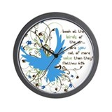 Value of Birds Wall Clock