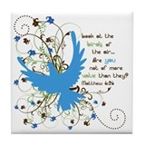Value of Birds Tile Coaster
