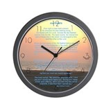 &amp;quot;Footprints&amp;quot; Wall Clock