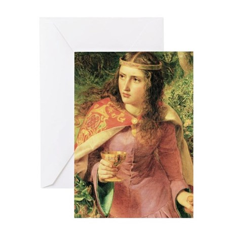 Queen Eleanor Greeting Card