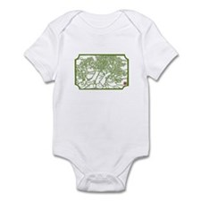 flowering trees infant bodysuit