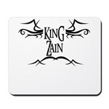 King Zain Mousepad