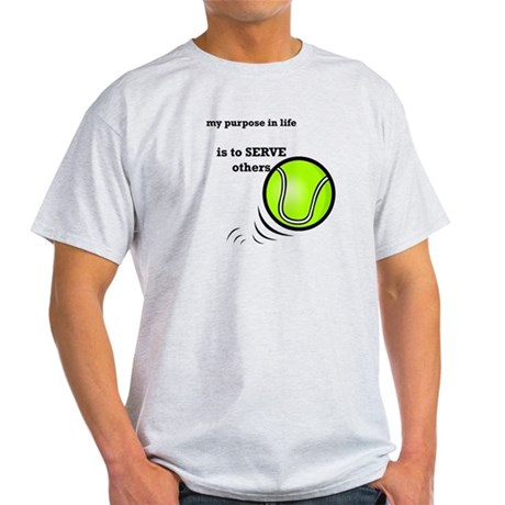 Tennis: Serve Others Light T-Shirt