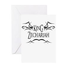 King Zechariah Greeting Card