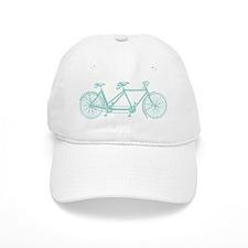 Tandem Bike Baseball Cap