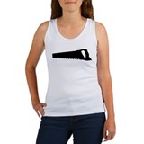 black saw Women's Tank Top
