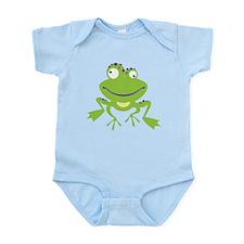 Funny Frog Infant Bodysuit
