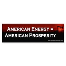 American Energy Bumper Bumper Sticker