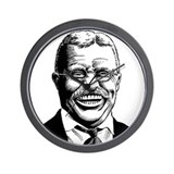 Theodore Roosevelt Wall Clock