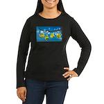 Comfort Zone Women's Long Sleeve Dark T-Shirt