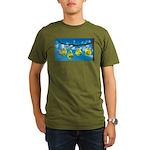 Comfort Zone Organic Men's T-Shirt (dark)
