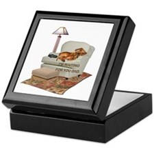 TV Doxie Dad Keepsake Box
