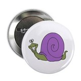 Happy Goofy Snail Button