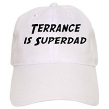 Terrance is Superdad Baseball Cap