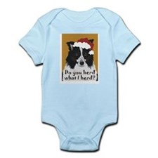 Border Collie DO YOU HERD? Infant Creeper
