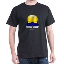 Moon Black T-Shirt