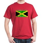Jamaica Jamaican Flag Red T-Shirt