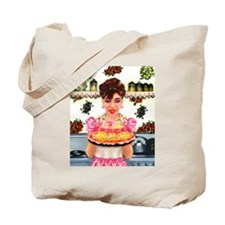 Vintage Happy Birthday Tote Bag