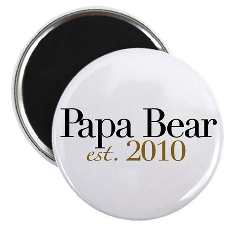 "New Papa Bear 2010 2.25"" Magnet (10 pack)"