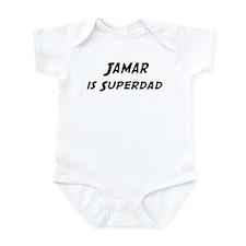 Jamar is Superdad Infant Bodysuit