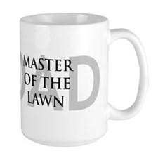 Dad Master of the Lawn Mug