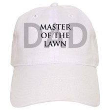 Dad Master of the Lawn Baseball Cap