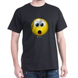 Shocked Black T-Shirt