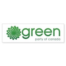 Green Party Of Canada Bumper Sticker