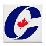 Conservative Party Tile Coaster