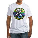AXEMEN Skull & Axes Fitted T-Shirt