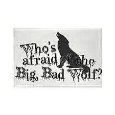 Big Bad Wolf Rectangle Magnet