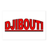 """Djibouti"" Postcards (Package of 8)"