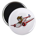 Amelia Earhart Magnet