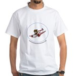 Amelia Earhart White T-Shirt