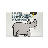 Motherflippin' Rectangle Magnet (100 pack)