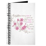 Faith (pink &amp;amp; brown) Journal