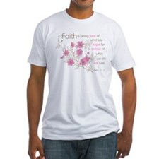 Faith (pink & brown) Shirt