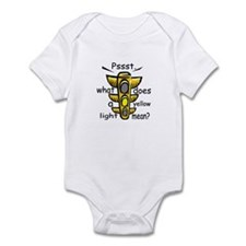 What Does A Yellow Light Mean Infant Bodysuit