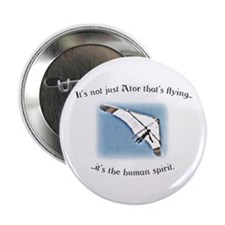 "Ator Flies! - sort of... 2.25"" Button (10 pac"